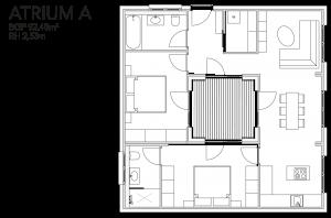 McCube Modell ATRIUM A Modulhaus