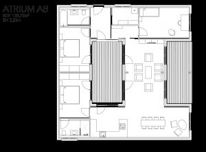 McCube Modell ATRIUM AB Modulhaus
