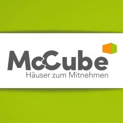 Facebook Logo McCube Häuser zum Mitnehmen