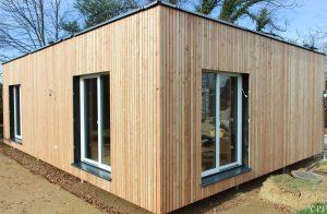 McCube Außenaufnahme Holzfassade