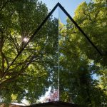 Modulhaus McCube mit Spiegelfassade
