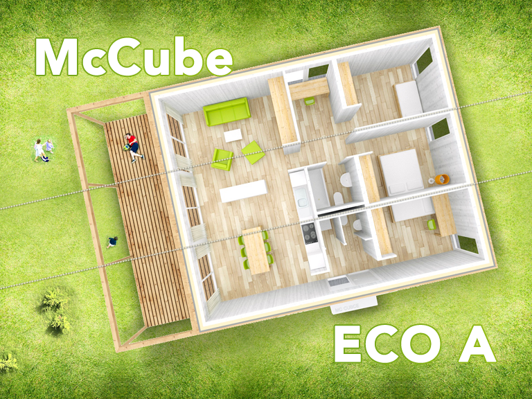 eco a linie mccube homes h user zum mitnehmen. Black Bedroom Furniture Sets. Home Design Ideas