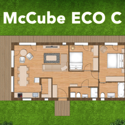 McCube Modell ECO C Grundriss