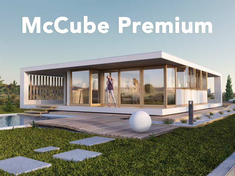 Premium mccube homes h user zum mitnehmen for Fertig container haus