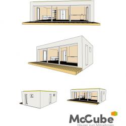Skizze McCube Modulhaus Steyr